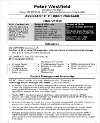 resume information technology manager 20 best it resume templates pdf doc free premium templates