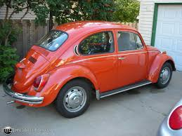volkswagen orange 1971 volkswagen beetle id 19786