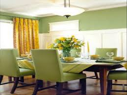 Green Dining Rooms Amazing Minimalist Creekside Green Dining Room Decor Plans
