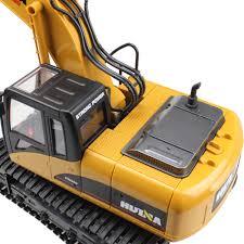 aliexpress com buy huina rc excavator 15 ch 2 4g alloy shovel