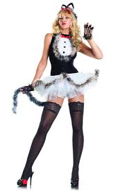 4 pc kissable kitty kat animal costume