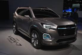 subaru viziv 7 subaru viziv 7 concept makes world debut myautoworld com