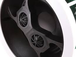 3 Way Ceiling Speakers by Aria In Ceiling Speakers 6 5in Dual Input Stereo 2 Way Pair