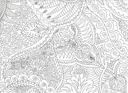 abstract art coloring page free download