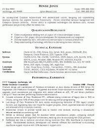 Networking Administrator Resume Database Administrator Resume Template Computer Programming
