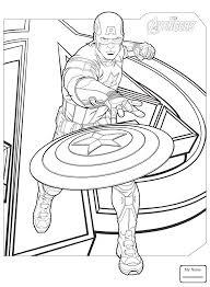 Howard Stark Captain America Cartoons Captain America Coloring Captain America Coloring Page