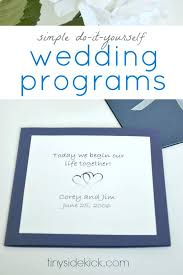 make wedding programs new program to make wedding invitations and easy to make wedding