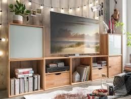 Wohnzimmerschrank Erle Wohnzimmer Wohnwände Massive Naturmöbel