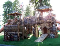 Best DIY Playground Images On Pinterest Playground Ideas - Backyard fort designs