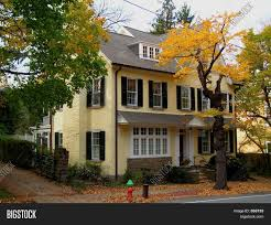yellow stucco house image u0026 photo bigstock