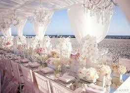 pink and white beach wedding reception decorationwedwebtalks