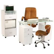 manicure tables with ventilation j a glass top manicure tables with vent glass top nail station