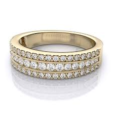 gold diamond wedding band best 10 yellow gold diamond wedding ring sets with 0 75 carat