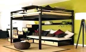 lit mezzanine avec bureau int r lit superpose lit mezzanine ikea amazing places metz