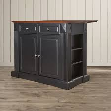 drop leaf breakfast bar top kitchen island kitchen and decor