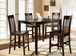 table exotic ashley furniture glass dining room table lovable