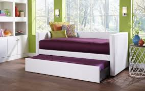 daybed bedroom kids bedroom furniture set with white trundle bed