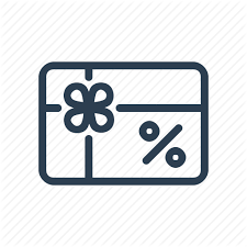 where to buy discounted gift cards coupon discount gift card percent present sale voucher icon