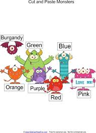83 best cut and paste worksheets activities for preschool images