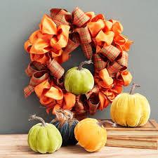fall ribbon fall ribbon wreath