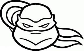ninja turtle face coloring pages cartoon gekimoe u2022 2333