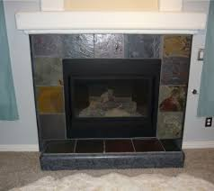 Stacked Stone Around Fireplace by Download Fireplace Slate Gen4congress Com