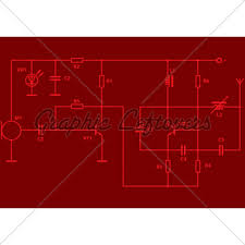 electrical scheme gl stock images