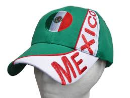 Mexixan Flag Mexico Mexican Flag Sports Soccer Baseball Cap Hat Caps Hats
