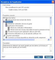 afficher la m sur le bureau paramètres d application menu outils