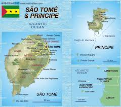 map of sao tome map of sao tomé and principe map in the atlas of the world