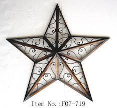metal star home decor metal star wall decor enchanting 24 large metal tin barn star wall