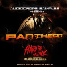 audiodrops samples presents patheon hard trap sample pack by