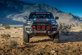 rally truck racing toyota u0027s tacoma trd pro race truck revealed at sema