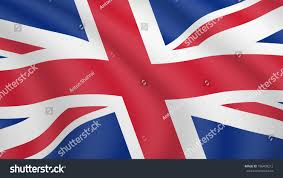 Marshallese Flag Realistic Waving Flag Britain Current National Stock Vector