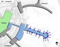 philadelphia international airport map philadelphia airport phl terminal e map