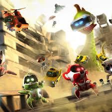 wallpaper the playroom vr cat mouse robots ps vr ps4 games 9806