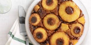 light pineapple upside down cake recipe