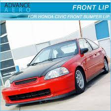 97 honda civic for 1996 1997 1998 honda civic ek type sir style front lip spoiler