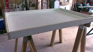 How To Build Kitchen Cabinets Video Build A Concrete Counter Form Video Diy