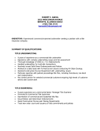 Seeking Titles Title Resume