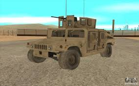 hummer h1 military humvee for gta san andreas