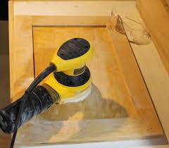 Paint Sprayer For Kitchen Cabinets by Cabinets U0026 Drawer Projectssanding How To Paint Kitchen Cabinets