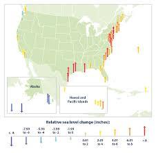 Us Navy Future Map Of United States by Climate Change Indicators Sea Level Climate Change Indicators