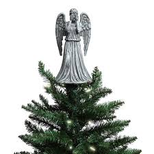angel christmas tree topper weeping angel christmas topper home kitchen