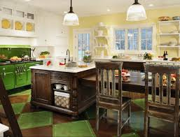 Antique Green Kitchen Cabinets 23 Green Kitchen Cabinets Ideas For Your Kitchen Interior Do It