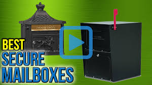 top 9 secure mailboxes of 2017 video review