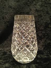 Waterford Vase Patterns Vintage Signed 7