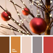beige chocolate christmas palette color matching cream gray