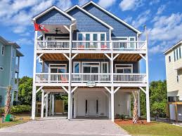 new 4br surf city house steps from beach homeaway surf city