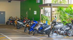 daniel k inouye international airport motorcycle moped parking